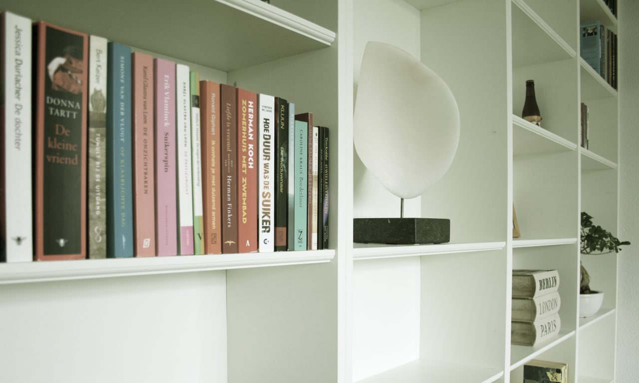 Dikke Planken Boekenkast.Kasten Het Interieur